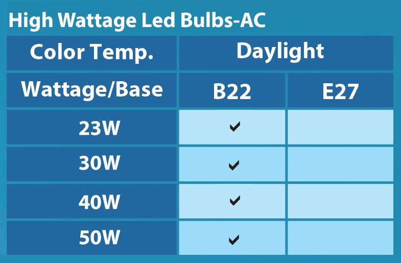High Wattage Bulb